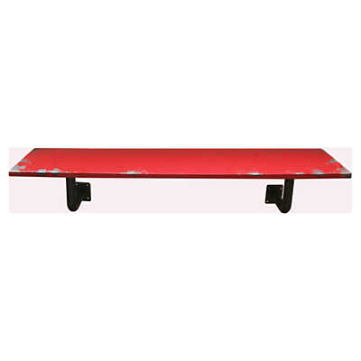 Picture of Kediri Large Red Wall Shelf