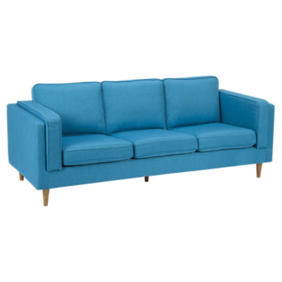Picture of Rosilini Blue Sofa by Moe's
