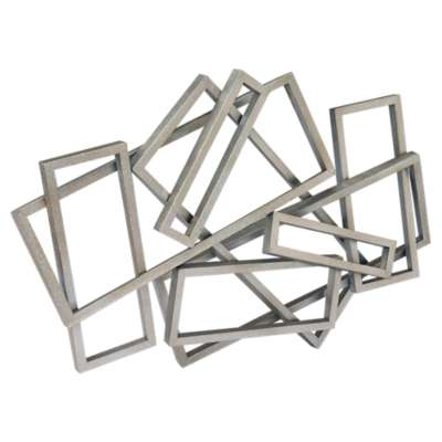 Picture for Metal Rectangles Wall Decor by Moe's
