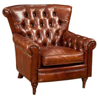 Picture for New Castle Brown Club Chair by Moe's