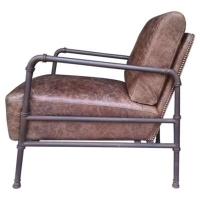 Picture for Livingstone Light Brown Club Chair by Moe's