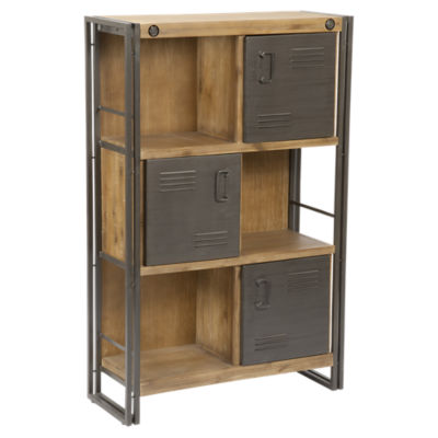 Brooklyn Large Shelf With Doors Smart Furniture