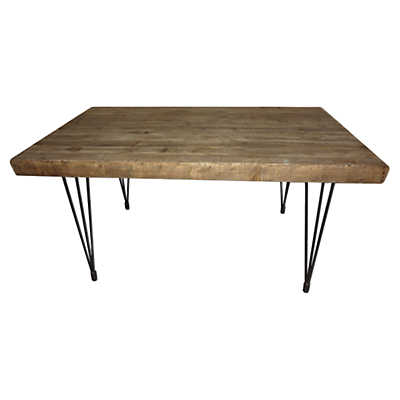 Picture of Boneta Small Natural Dining Table by Moe's