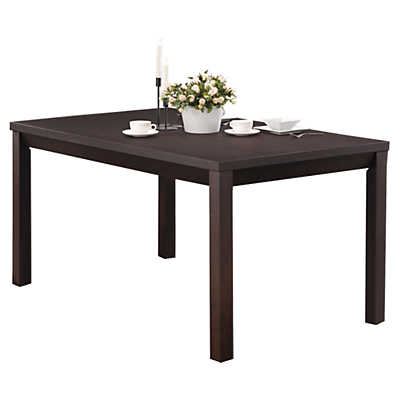 """Picture of Cappuccino Veneer 36"""" x 60"""" Dining Table"""