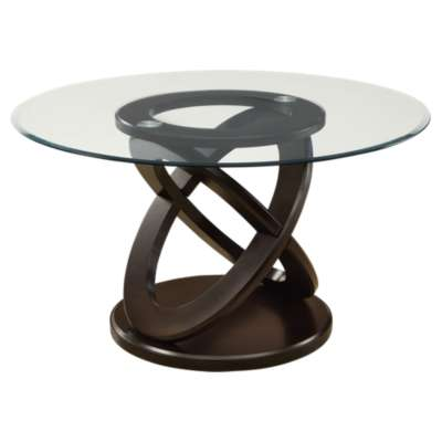 "Picture for Dark Espresso 48"" Round Dining Table by Monarch"