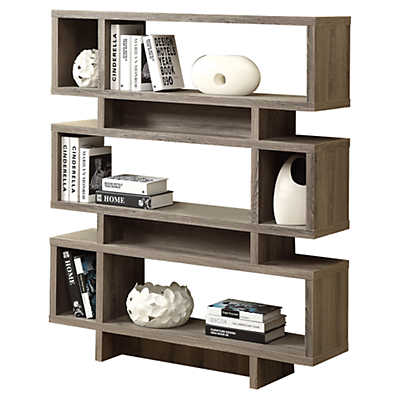 "Picture of 55"" Modern Bookcase by Monarch"