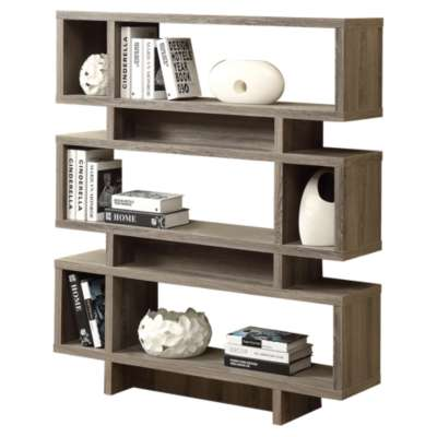 "Picture for 55"" Modern Bookcase by Monarch"