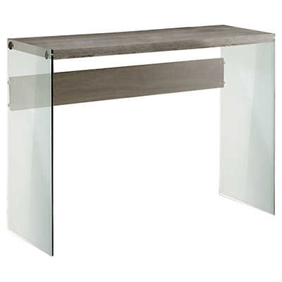Picture of Dark Taupe Console Table by Monarch