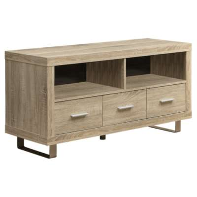 Picture for TV Console with 3 Drawers by Monarch