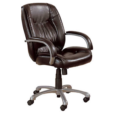 Picture of Brown Leather-Look Office Chair