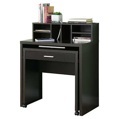 Picture of Cappuccino Space Saving Desk by Monarch