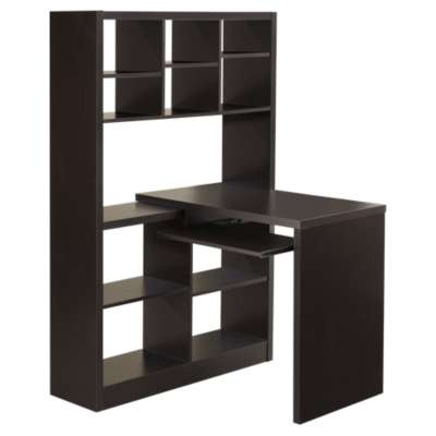 Picture for Corner Desk with Shelves by Monarch