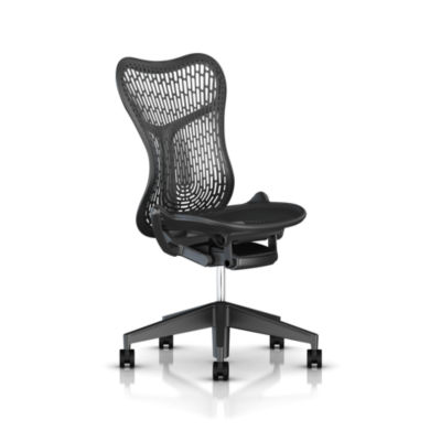 MRFT121PWAPN2G1BBG1BK1A703: Customized Item of Mirra 2 Chair by Herman Miller, Triflex Back (MRFT)