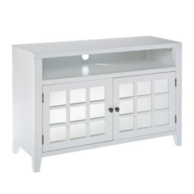 Picture of Garbo Media Console in White