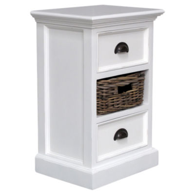Picture of Halifax Bedside Storage Unit with Basket