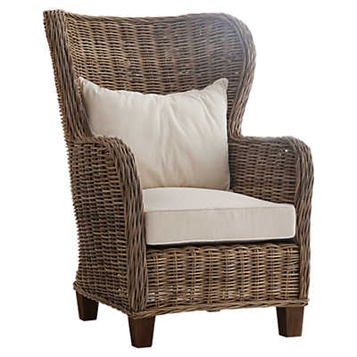 Picture of King Chair with Seat and Back Cushions