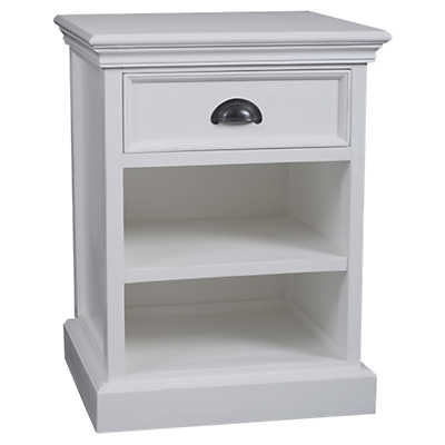 Picture of Halifax Bedside Table with Shelves