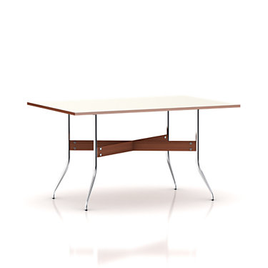 NS5851-WALNUT: Customized Item of Nelson Swag Leg Rectangular Dining Table by Herman Miller (NS5851)