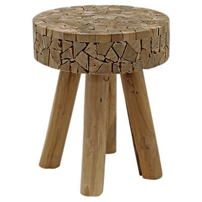 Teak Chips Stool Smart Furniture