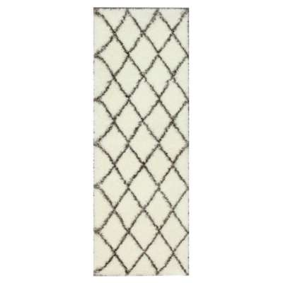 Picture for nuLOOM Trellis Shag Runner, 8 foot