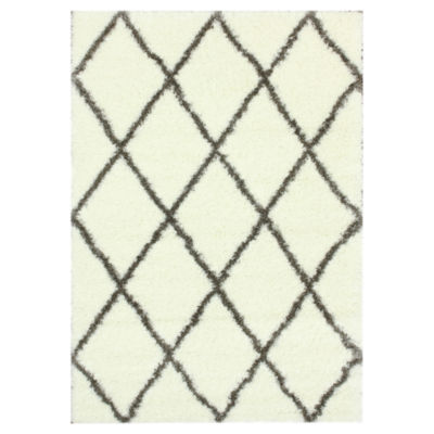 Picture of nuLOOM Trellis Shag Rug, 6 foot