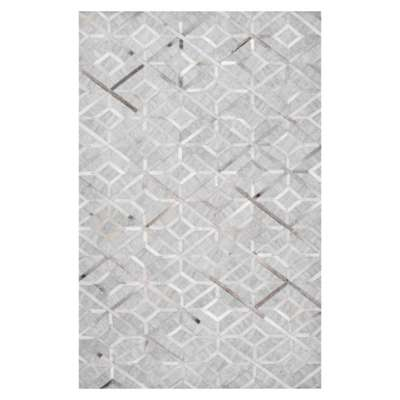 Picture for Handmade Cowhide Chanda Rug by nuLOOM