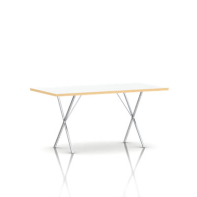 NX1003672L91BK: Customized Item of Nelson X-Leg Table, Laminate Top by Herman Miller (NX100)