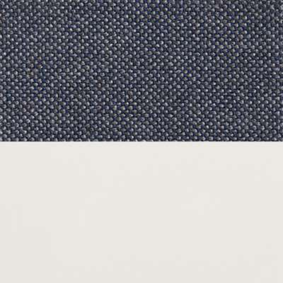 "Nixon Blue/White for New Standard 78"" Sofa by Blu Dot (NEWSTANDARD78)"