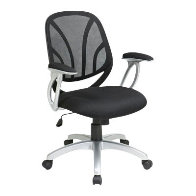 Picture of Mesh Back Task Chair with Silver Base