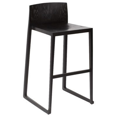 OSHBSBLK: Customized Item of Hanna Bar Stool by Osidea (OSHBS)