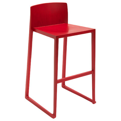 OSHBSRED: Customized Item of Hanna Bar Stool by Osidea (OSHBS)