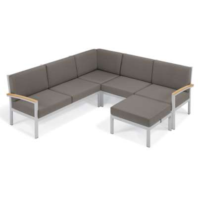 Picture for Travira 4-Piece Loveseat Chat Set by Oxford Garden