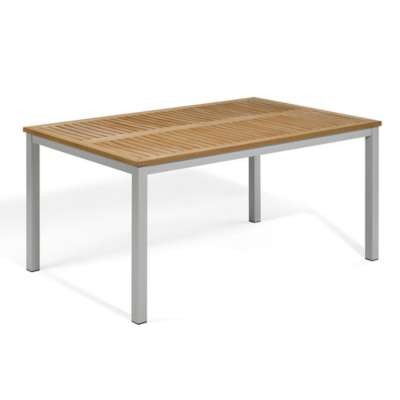 "Picture for Travira 63"" Rectangular Dining Table by Oxford Garden"