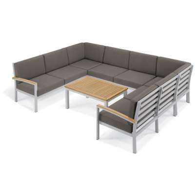 Picture for Travira 7-Piece Loveseat and Table Chat Set by Oxford Garden