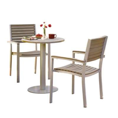 "Picture for Travira 3-Piece Bistro Set with 24"" Table by Oxford Garden"