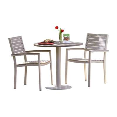 "Picture for Travira 3-Piece Bistro Set with 32"" Table by Oxford Garden"