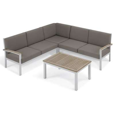 Picture for Travira 4-Piece Loveseat and Coffee Table by Oxford Garden