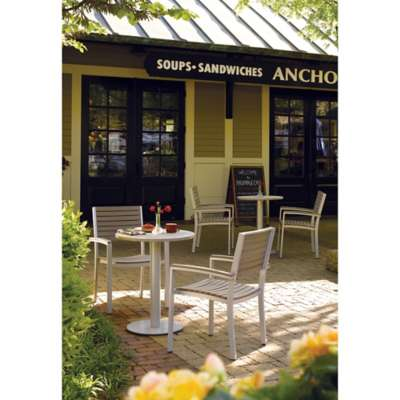 "Picture for Travira 5-Piece Bistro Set with 24"" Table by Oxford Garden"