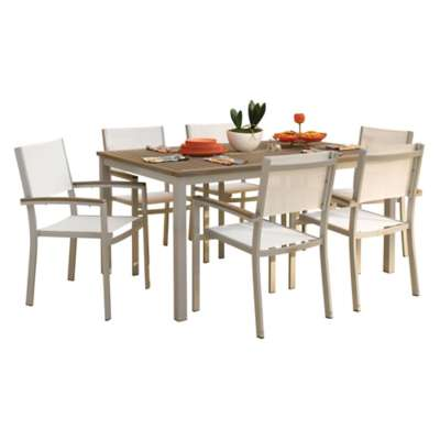 Picture for Travira 7-Piece Tekwood Dining Set by Oxford Garden