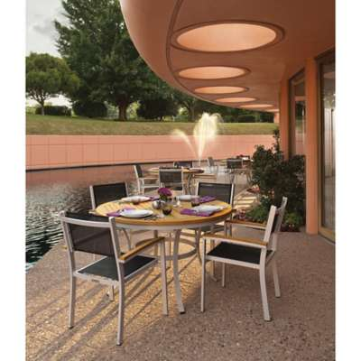 "Picture for Travira 5-Piece Dining Set 48"" Dining Table by Oxford Garden"