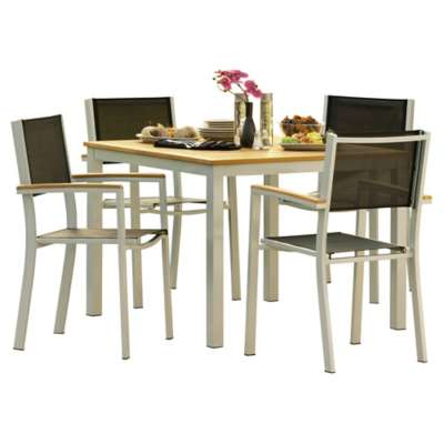 Picture for Travira 5-Piece Patio Dining Set by Oxford Garden