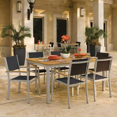 "Picture for Travira 7-Piece Dining Set 63"" Dining Table by Oxford Garden"