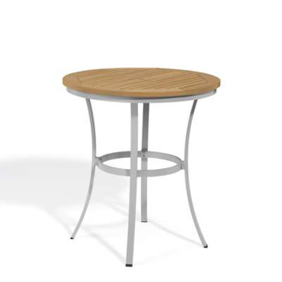 "Picture for Travira 36"" Round Cafe Bar Table by Oxford Garden"