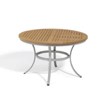 "Picture for Travira 48"" Round Dining Table by Oxford Garden"