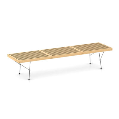"Picture of Nelson Platform Bench by Herman Miller, 72"" Wide"