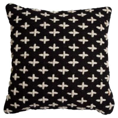 Picture for Mima Cross Stitch Pillow by Blu Dot