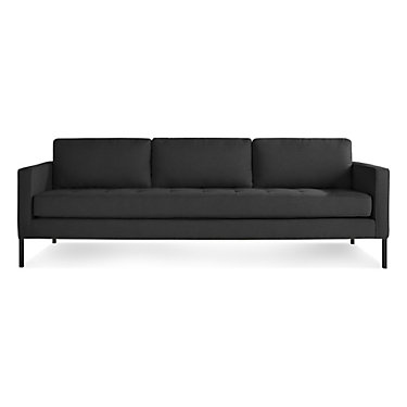 PM1LGSOFA-BK-STEEL: Customized Item of Paramount Sofa by Blu Dot (PM1LGSOFA)