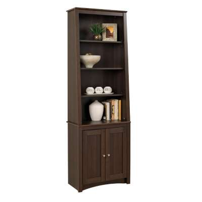 Picture for Slant-Back Bookcase with Shaker Doors