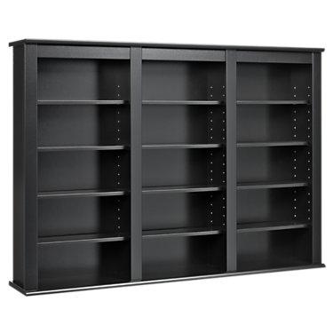 PP0523-CHERRY BLACK: Customized Item of Triple Wall Mounted Storage Shelf (PP0523)