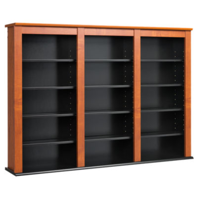 PP0523-CHERRY BLACK: Customized Item of Triple Wall Mounted Storage Shelf (PP0523)